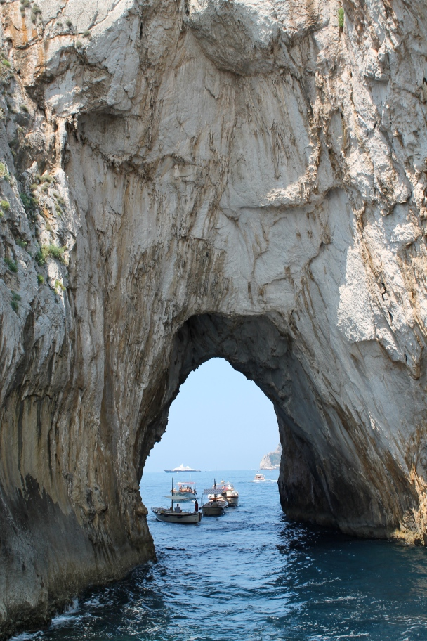 Waters surrounding Capri